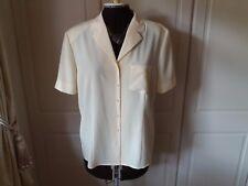 Pretty lemon blouse from Frankenwalder - size 14-16