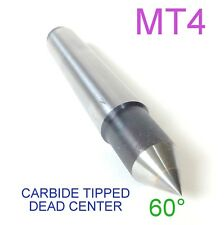1 pc Lathe MT4 Carbide Dead Center  MORSE TAPER #4 /4MT Lathe Center sct-888