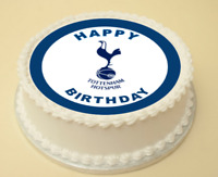 TOTTENHAM HOTSPUR EDIBLE CAKE & CUPCAKE TOPPER/DECORATION WAFER PAPER/ICING