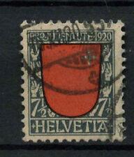 Switzerland 1920 SG#J14, 7.5c Pro Juventute Used Cat £21 #A70077
