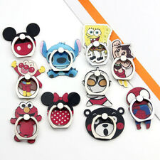 Cute Cartoon Stand Mobile Phones Holder Mickey Minnie Finger Stick Tablet Ring