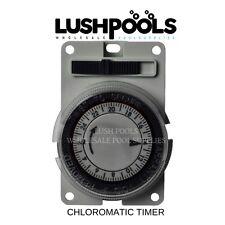CHLOROMATIC ESR / ESC QUARTZ  BATTERY BACK UP Timer / Chlorinator Time Clock