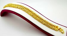 22 K YELLOW GOLD UNIQUE BOLD  LINK CHAIN NECKLACE FOR MEN WOMEN JEWELRY