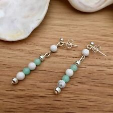 Silver Plated Turquoise Fine Earrings