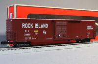 LIONEL ROCK ISLAND SCALE 60' BOXCAR o gauge freight train box car 6-82659 NEW