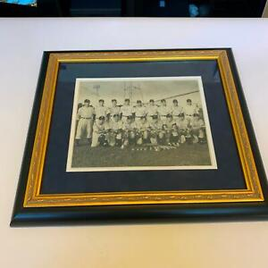 Incredible Mickey Mantle 1949 Independence Yankees Team Signed Photo PSA DNA