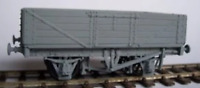 Cambrian C32 OO Gauge 12t 5 Plank Fixed End Wagon Kit