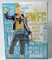 Genuine Banpresto One Piece Figure Banpresto World Figure Colosseum Marco JAPAN