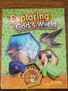 Abeka Exploring God's World 3rd Grade Science Textbook Fifth Edition