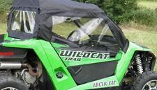 DOORS & REAR WINDOW Enclosure ~ Arctic Cat WILDCAT TRAIL + SPORT ~ New ~ UTV