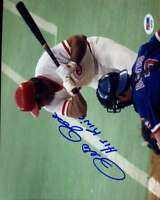 PETE ROSE Hit King PSA DNA Coa Hand Signed 8x10 Photo  Authentic Autograph