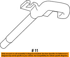 Jeep CHRYSLER OEM Grand Cherokee Radiator Core Support-Tow Hook Left 68140583AA