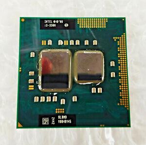 PROCESADOR INTEL CORE i3-330M 2,13GHz Socket G1 / PGA988 LAPTOP PROCESSOR