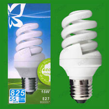 Unbranded Standard 15W CFL Light Bulbs