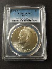1976-S Silver Bicentennial Eisenhower PCGS MS67