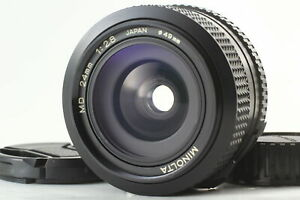 【MINT】Minolta MD 24mm f/2.8 Wide Angle Lens for SLR From JAPAN #1181