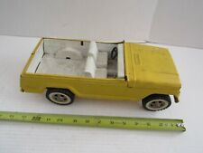 Vintage Tonka Pressed Steel Car Truck Jeepster Yellow Parts Restore Jeep