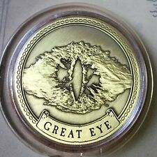 Great Eye Lord Of The Rings Limited Edition 38mm Collectors Coin In Capsule