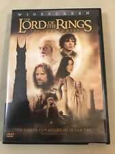 Lord of the Rings The Two Towers Dvd Widescreen 2 Set Frodo Billbo