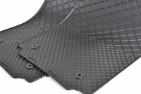 New Genuine AUDI A2 (2000-2005) Rubber Floor Mats Full Set Front + Rear LHD OEM