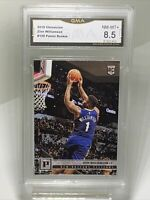 GMA Graded NM-Mint+ 8.5: 2019 Zion Williamson ROOKIE RC Chronicles Card #120