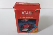 VINTAGE Atari 2600 Star Raiders COMPLETE w/ Boxes Video Touch Pad Comic Manuals