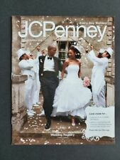 JCPenney Spring & Summer 2009 Wedding Registry CATALOG Bride Groom RARE