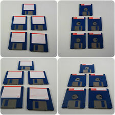 """5 3.5"""" DS DD Floppy Disks Amiga formatted fully checked no errors Atari ST PC"""