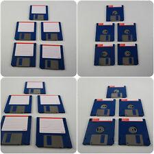 """5 3.5"""" DS DD disquetes amiga formateado completamente comprobado ningún error Atari ST PC"""