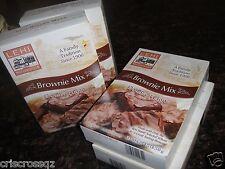 4 boxes * DOUBLE FUDGE BROWNIE MIX * Wheat Flour (no white) * 5 g sugar * 0% Fat
