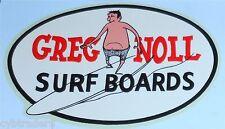 Greg Noll Surf Boards  Advertising  Refrigerator / Tool Box  Magnet
