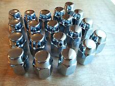 """20 AMC Rally Rim Chrome Mag Wheel Acorn Lug Nuts 1/2""""-20 RHT 13/16"""" Hex NOS"""