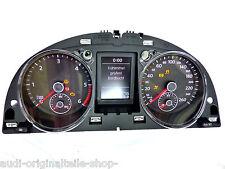 VW Passat B7 Diesel Tacho Kombiinstrument Display weiss Cluster 3AA920870A