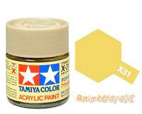 TAMIYA COLOR X-31 Titanium Gold MODEL KIT ACRYLIC PAINT 10ml Free Shipping New