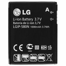 2 OEM NEW LGIP-580N Battery for LG GC900 UX700 GT505 GM730E