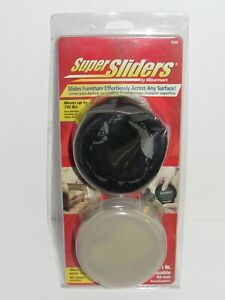 NEW 8-Pack Waxman 3 1/2-inch Round Super Sliders & Protection Pads - 7038