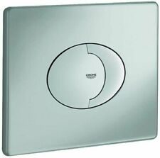 GROHE 38506P00 Skate Air Toilet Flush plate - Brushed Chrome - NEW