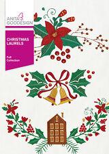 Anita Goodesign Embroidery Machine Design CD CHRISTMAS LAURELS
