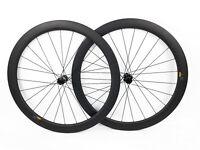 DT Swiss 350 Disc Clincher 50mm Carbon Road Gravel Bike Wheelset 11 Speed NEW!
