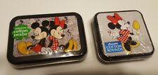 5X2 Disney Mickey Minnie Mouse Collector Series #6 & 4- COTTON SWABS & ROUNDS