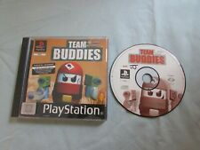 PlayStation PS1 PSX Team Buddies  Rare Boxed   video game set b