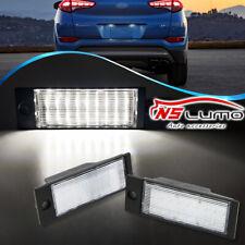 3W 18 SMD LED Number License Plate Lights For 2016-up Hyundai Tucson IX35 2Pcs