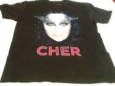 Cher T-shirt Concert Dressed to Kill tour Size Large Bono T-shirt New