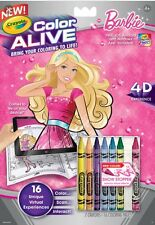 Crayola Color Alive Barbie Book 4D Experience Brings Coloring to LIFE