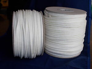 Extra Strong Braided Cord Polyester Core 4.4mm Polyrope Washing Clothes Line