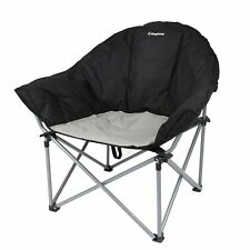 KingCamp Deluxe Padded Portable Strong Stable Folding Sofa Chair with Carry Bag