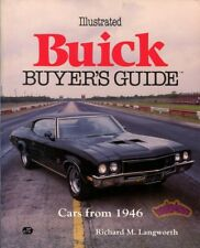 BUICK BOOK BUYER'S GUIDE ILLUSTRATED LANGWORTH GS