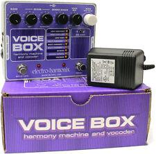 Electro Harmonix Voice Box Vocal Harmony Effects Pedal w/Power Supply!