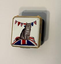Halcyon Days Enamels Mintaka in Patriotic Mode Mint Original Box