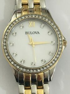 Bulova Women's Quartz Watch 98X113